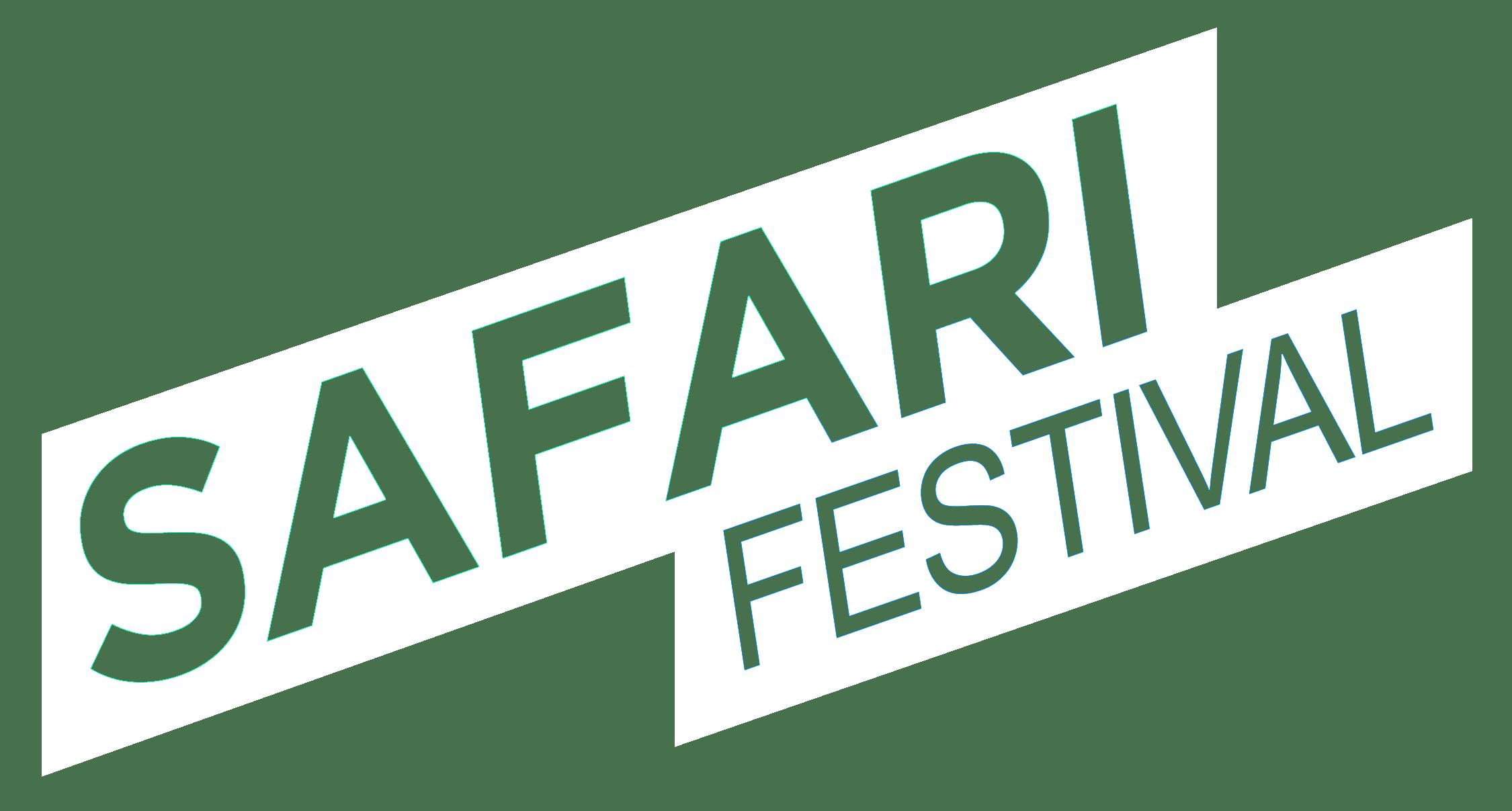 Despedida de Soltero - logo safari blanco